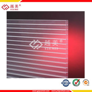 Polycarbonate Hollow Sheet PC Plastic Panel Lexan Roofing Sheet pictures & photos