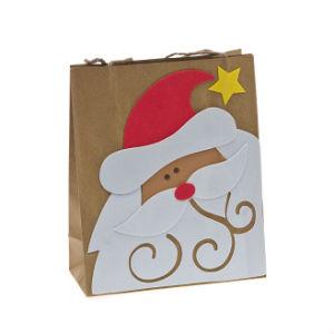 New Kraft Bag with EVA Cartoon Decoration pictures & photos