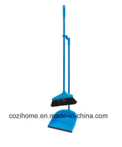 Sweeper Set Plastic Dustpan Set with Broom (3802) pictures & photos