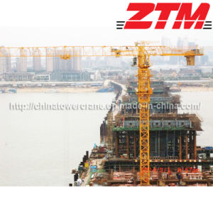 Large Flat Head Tower Crane for Construction (TC7525)