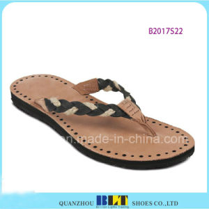 Blue Sky Beach Part Slippers for Women pictures & photos