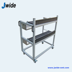 High Efficiency SMT Feeder Trolley for PCB Bulk Production pictures & photos