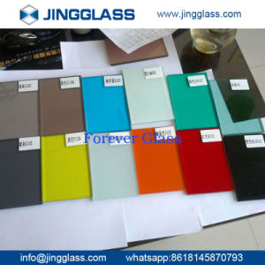 Cheap Price Building Safety Tempered Tinted Glass Colored Glass Factory pictures & photos