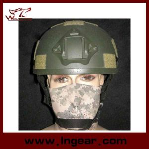 Police Tactical Mich 2001 Nvg Mount Helmet with Frame Helmet pictures & photos
