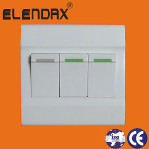 Elendax Wall Switch with ABS Plate (F1203) pictures & photos