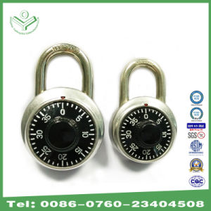 Different Sizes Round Shape Combination Padlock (1500S) pictures & photos
