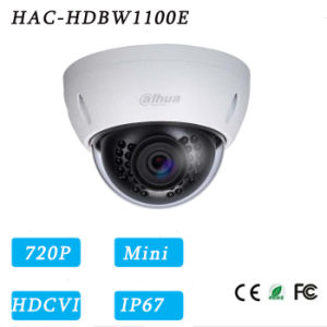 1megapixel 720p Vandal-Proof IR Hdcvi Mini Dome Security Camera{Hac-Hdbw1100e}