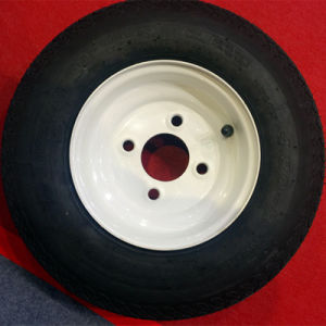 Trailer Tyre of America Standard/ DOT Approved Tire with Rim pictures & photos