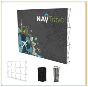 8FT Velcro Pop up Display with Carry Bag pictures & photos
