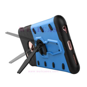 360 Rotation Transformer Anti-Shock Amor Mobile Case with Adjustable Holder pictures & photos