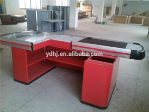 Wholesale Used Supermarket Cash Checkout Counter for Sale pictures & photos