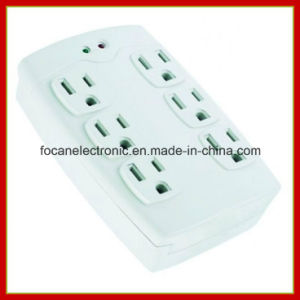 6 Outlets Surge Protected Current Tap pictures & photos
