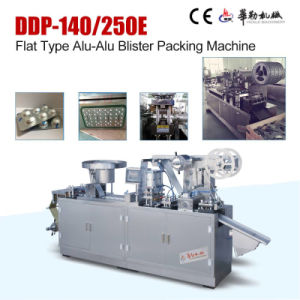Dpp-250e Cold Alu Alu Foil Blister Packing Machine pictures & photos