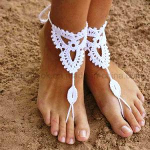 Ankle Bracelet Hand Crochet Barefoot Sandals Foot Jewelry Beachwear Swimwear pictures & photos