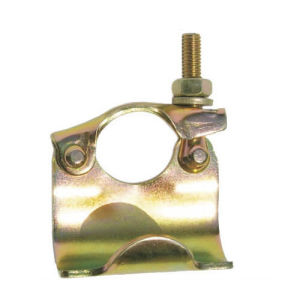 Pressed Scaffolding Single Coupler with Color Zinc Surface pictures & photos