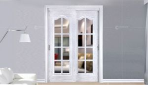 High Quality Glass Door Door Frame Made From Oak pictures & photos