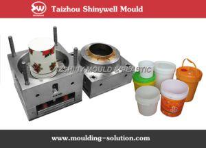 Iml Plastic Paint Pail Mould pictures & photos