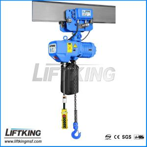 0.25t Dual Lifting Speed Warehouse Electric Chain Hoist pictures & photos