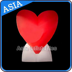 2m Inflatable LED Heart for Valentine Decoration pictures & photos