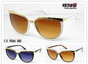 Hot Sale Fashion Sunglasses Wirh Metal on Upside UV400 Kp50189 pictures & photos