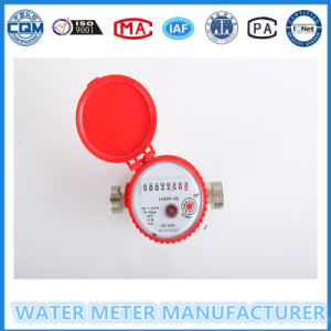 Metal Body Water Meters Single Jet Cold Hot Water pictures & photos