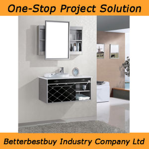 Stainless Steel Bathroom Cabinet with Movable Mirror pictures & photos