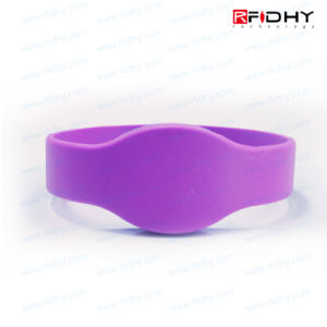Bright Colours RFID Smart Silicon Bracelet for Events pictures & photos