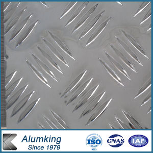 Pre-Cutted Checker Aluminium Plate for Door pictures & photos