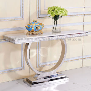 Dining Room Sets Console Table with Modern Stainless pictures & photos