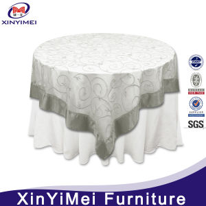 100% Polyester 5 Star Hotel Wedding Table Cloth Designs pictures & photos