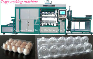 Intelligent High Speed Automatic Plastic Cake Tray/Cookies Tray/Cup Lids Forming Making Machine
