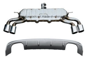 High Quality S3 2014-up 5D Exhaust Pipe Kit Exhaust System pictures & photos