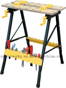 Square Tube 25X25mm Foldable Workbench (WB025) pictures & photos