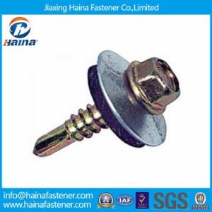 Zinc Plated Hex Self-Tapping EPDM Washer Roofing Screw pictures & photos