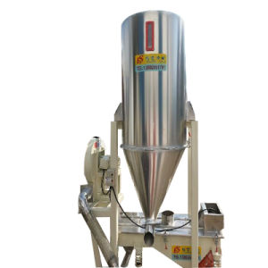 Integraded Machine for Both Plastic Granule Vibration and Storage