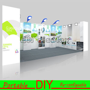 Movable Adjustable 3X6X2.5 New Reusable Modular Trade Show Booth with Storage pictures & photos