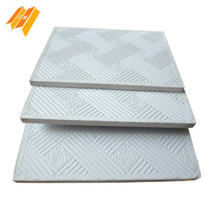 Hebei Quality PVC Gypsum Ceiling with Aluminum Foil Back pictures & photos