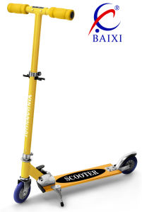 Best Scooters for Kids with 120mm Flashing PVC Wheel (BX-2M009) pictures & photos