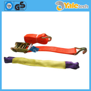 Plastic S-Hook Nylon Strap Car, Tie Down Ratchet pictures & photos