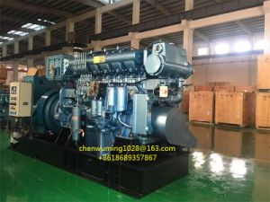 Shanghai Diesel Engine Sdec Industrial Generator Set with Maraton Alternator pictures & photos