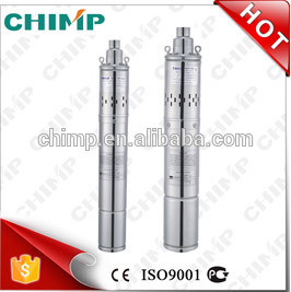"Chimp 3"" 4"" Oil Filled Motor Underground Deep Well Submersible Screw Water Pump pictures & photos"