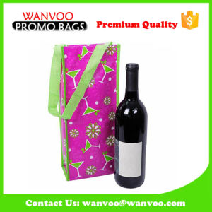 Eco Friendly Non Woven Wine Bag with Colorful Printed pictures & photos