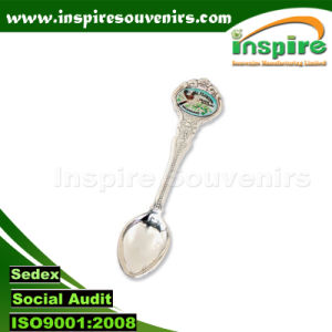 Customized Zinc Alloy Carton Spoon for Souvenir Collections pictures & photos