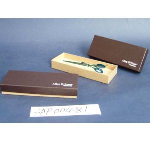 Wood, Coardboard, Plastic Scissors Box with PU, Paper or Paint pictures & photos