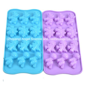 12-Cavity Silicone Cookie Tool Insect Shape Chocolate Baking Tool Si07 pictures & photos