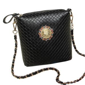 PU Embossed Pattern Fashion Chain Ladies Bag (FW006)
