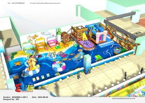 Professional Manufacturer of Ocean Themed Indoor Playground Equipment pictures & photos