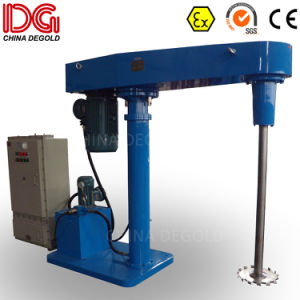 Platform Paint High Speed Dissolver Mixing Machine pictures & photos