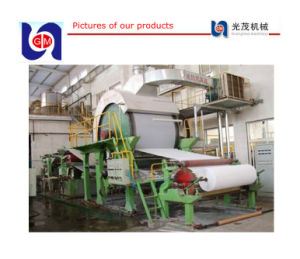 Hand Towel Paper Machine and Compressed Tissue Machinery Line pictures & photos