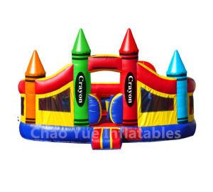 Big Crayon Inflatable Bounce House for Amusement Park (CYBC-560) pictures & photos
